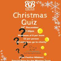 B-Bar Christmas Quiz