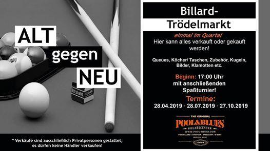 neu billig kauf verkauf beste website Billard Trödelmarkt at Pool & Blues, Bergisch Gladbach
