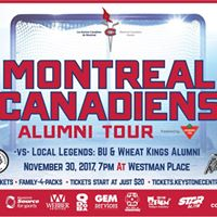 Montreal Canadiens Alumni vs Local Legends Charity Game