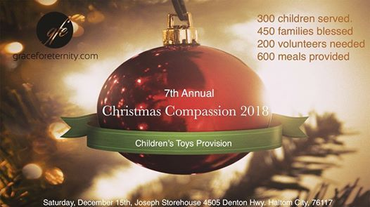 christmas compassion 2018 at grace for eternity church4605 denton