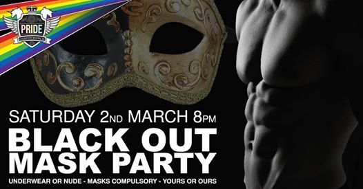 PRIDE MASK PARTY