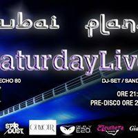 The Saturday PARTY - DUBAI Planet (ex CineWorld) 21gen17