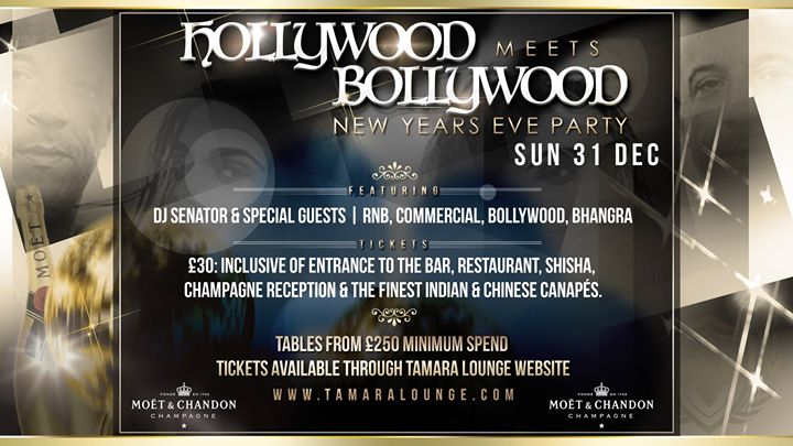 hollywood meets bollywood nye party at tamara lounge