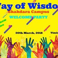 Welcome Party 2018 Way of Wisdom School