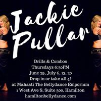 Jackie Pullar of Wild Orchid Bellydance at Mahasti in Hamilton