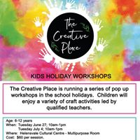 Kids Craft School Holiday Workshops