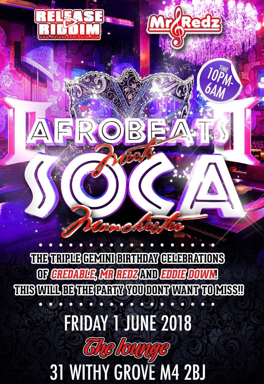 Afrobeats Meets Soca
