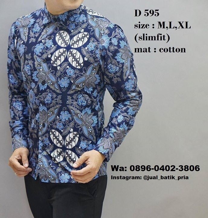 Wa  0896-0402-3806 Distributor Baju Batik Pria Modern at Makassar ... 5be2abf5d0