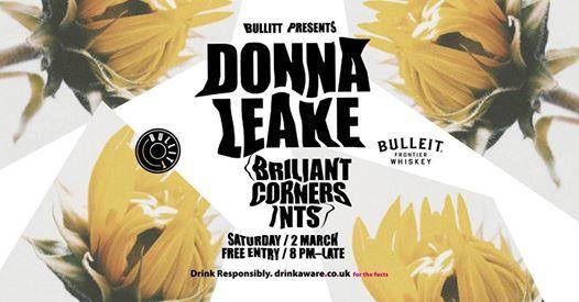 Bullitt presents Donna Leake
