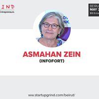 Startup Grind Beirut hosts Asmahan Zein (InfoFort)