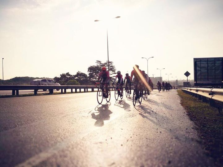 Ucycling weekly ride (Route 1 - Yishun Dam - TMCR)