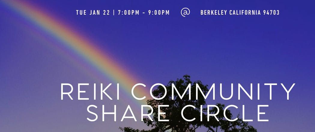 Reiki Community Share Circle   - Hosted By Namastemami