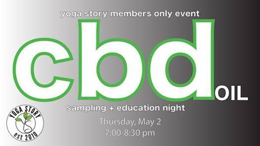CBD Oil Sampling & Education Night at Yoga Story, Bentonville