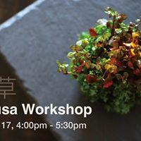 Wabi-kusa Workshop
