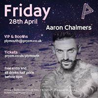 Aaron Chalmers at PRYZM