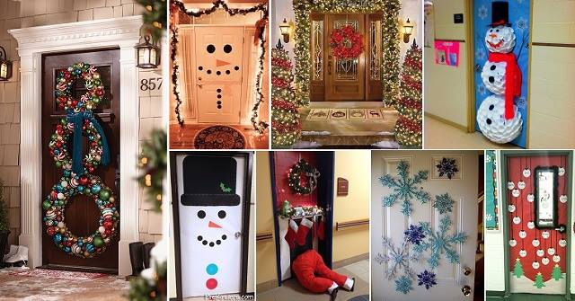 Christmas Door Decoration Contest At The Amber Apartments
