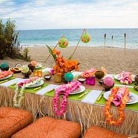 Hawaiian Princess Luau Luncheon Party
