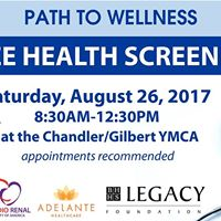 Free Health Screening by Path to Wellness