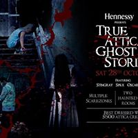 Hennessy Presents True Attica Ghost Stories - Saturday 28th Oct