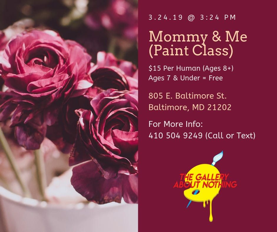 Mommy & Me Paint Class (At An Art Gallery)