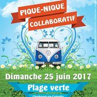 Pique-nique Collaboratif  Dimanche 25 juin  Plage verte