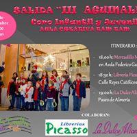 Salida III Aguinaldo Coro Infantil y Juvenil