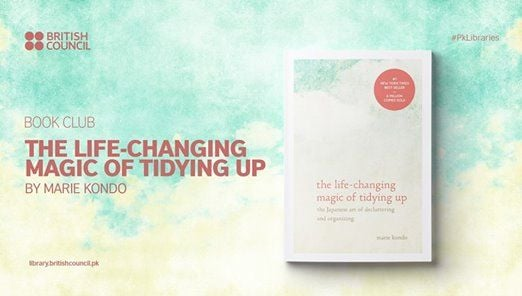 Book Club The Life Changing Magic of Tidying Up by Marie Kondo