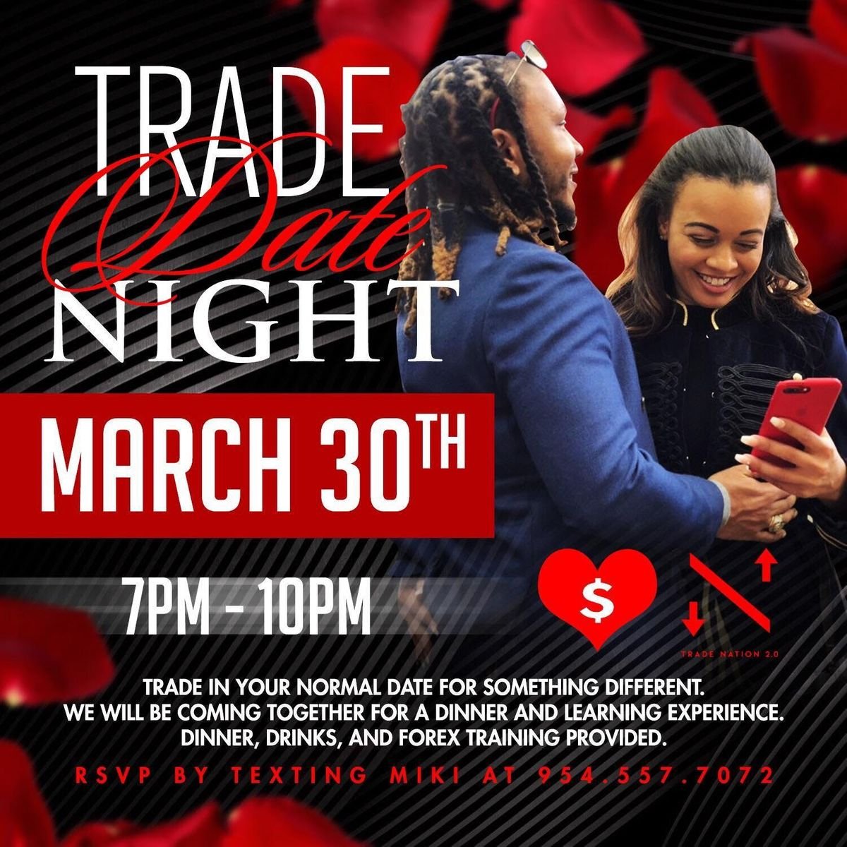 Trade Date Night  A Dinner & Learning Experience For Couples