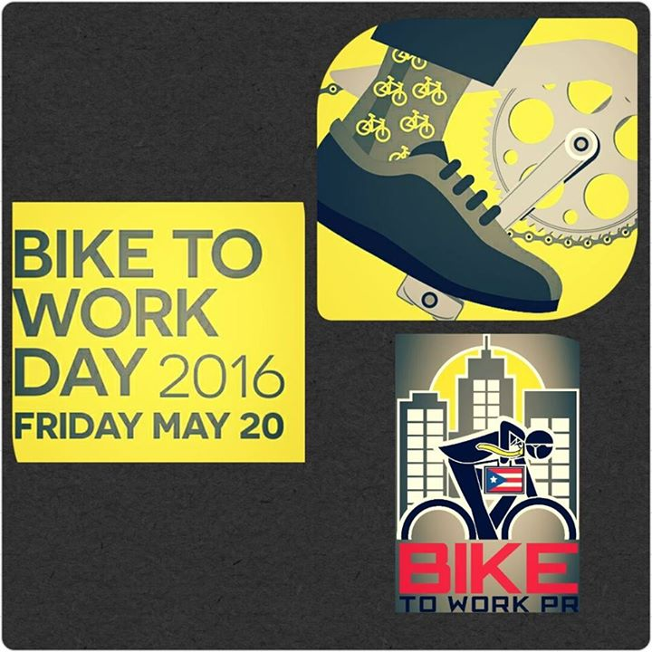 Bike to work pr day at ave ponce de le n hato rey san juan for Rio grande arts and crafts festival 2016