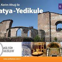 Arkeolog Dr. Kerim Altu eliinde Samatya  Yedikule Gezisi
