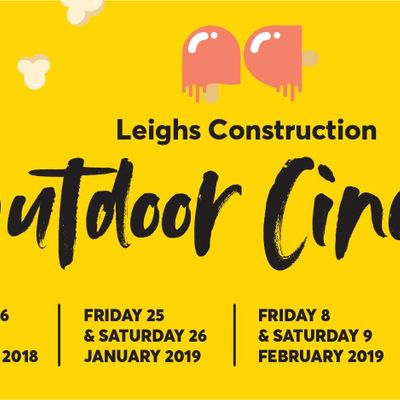 Leighs Construction Outdoor Cinema at the Arts Centre