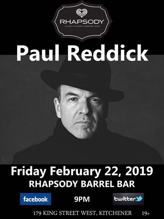 Paul Reddick  Rhapsody