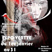Exposition-Vente &quotSombre&quot  lAtelier 53 Bayonne