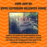 Hippo Playground Halloween Parade