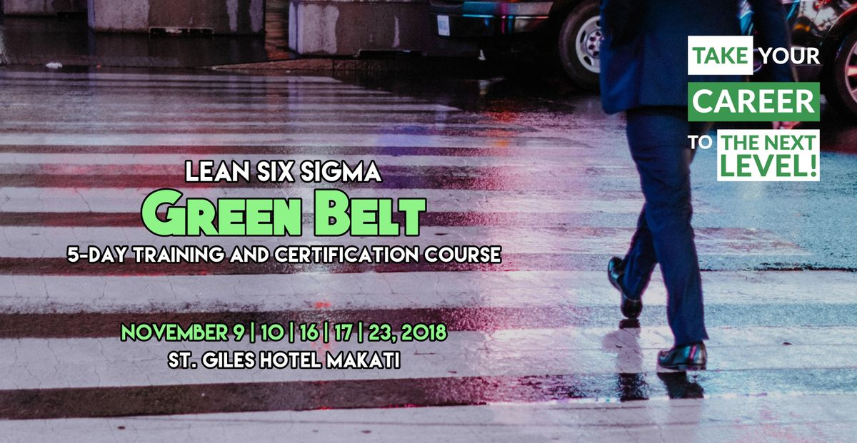 Lean Six Sigma Green Belt Training And Certification Course 5 Days