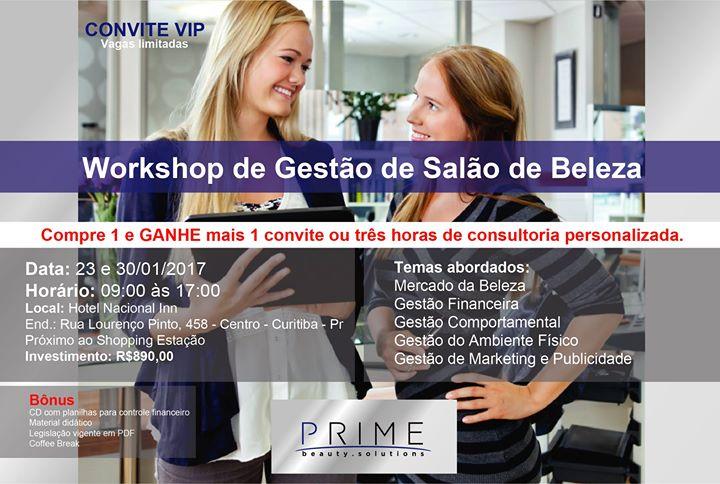 Workshop de Gesto de Salo de Beleza