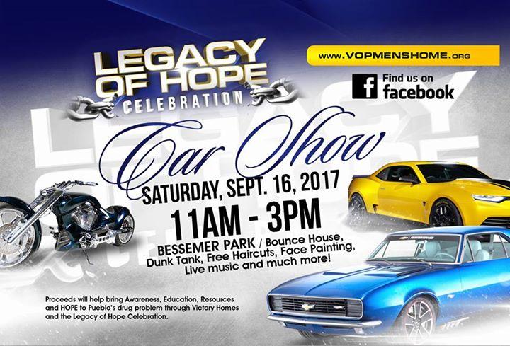 Victory Outreach Pueblo Legacy Of Hope Car Show At Bessemer Park Pueblo - Pueblo car show