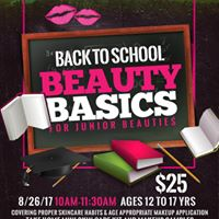 Back to School Basics for Junior Beauties 12-17yrs