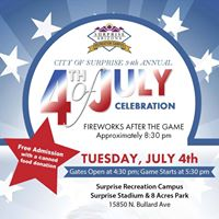 34th Annual 4th of July Celebration