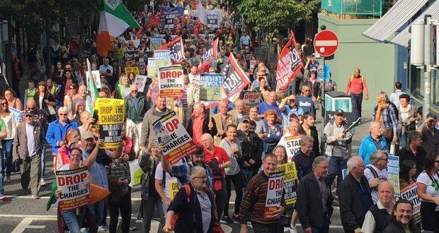 Stand with Jobstown - Protest is NOT a crime