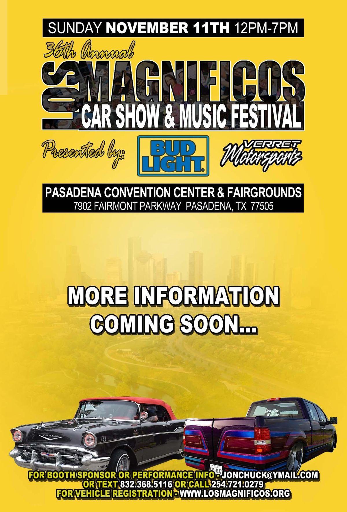 Th Annual Los Magnificos Car Show Concert At Pasadena Convention - Pasadena car show