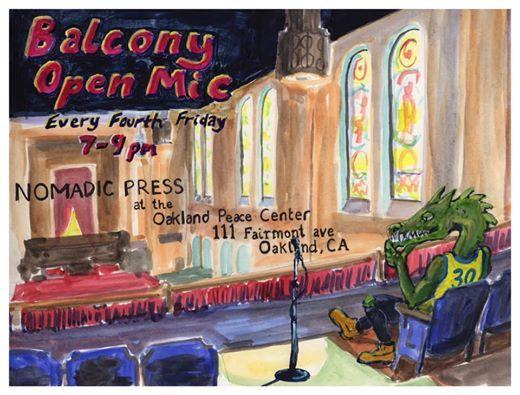 Balcony Open Mic