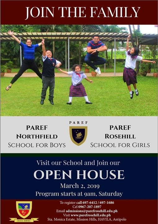PAREF Rosehill March 2 2019 Open House