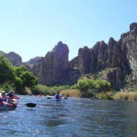 Salt River Yoga and Kayak Float