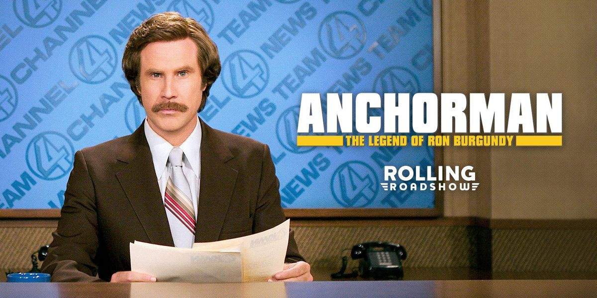 Rolling Roadshow presents ANCHORMANs 15th Anniversary FREE in Republic Square Park