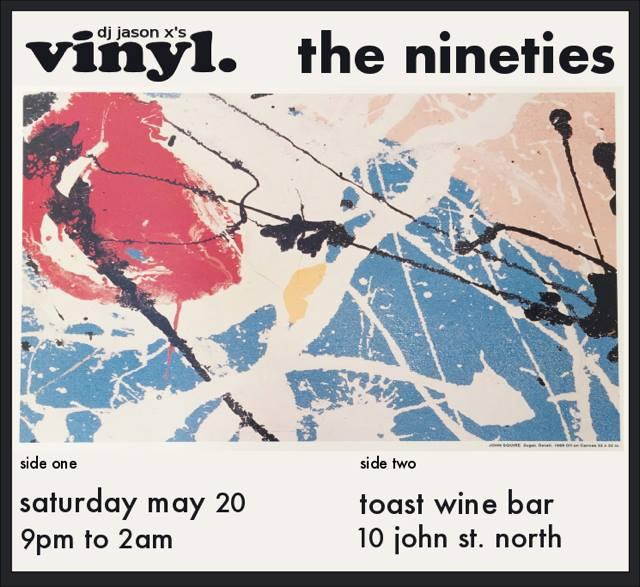 Vinyl Night - 90s Style