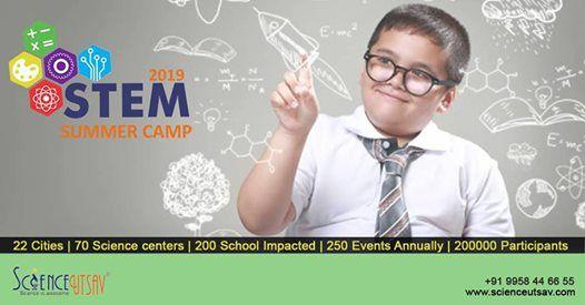 ScienceUtsavs STEM Summer Camp 2019 at Pune