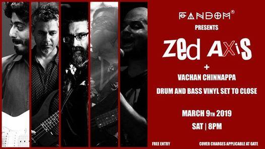 Fandom presents Zed Axis  DnB Vinyl set with Vachan Chinnappa