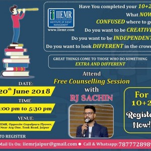 Free Counselling Session With RJ Sachin