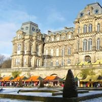Free bowes museum and christmas market trip